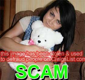 CraigsList Scammer: Tatyana